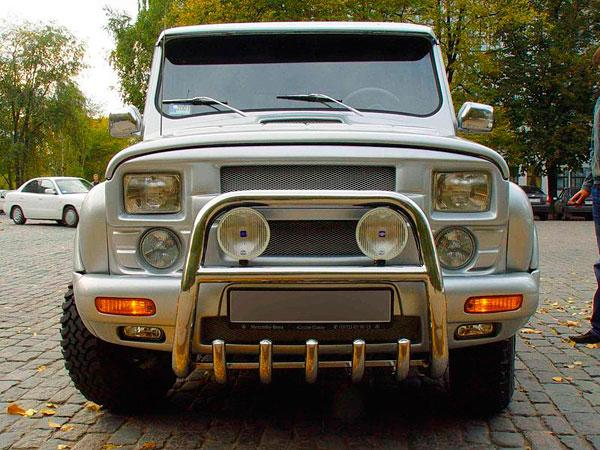 тюнинг салона УАЗ 469 Хантер