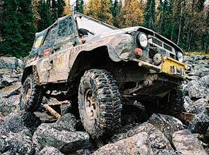 Тюнинг УАЗ-469 Хантер для бездорожья своими руками